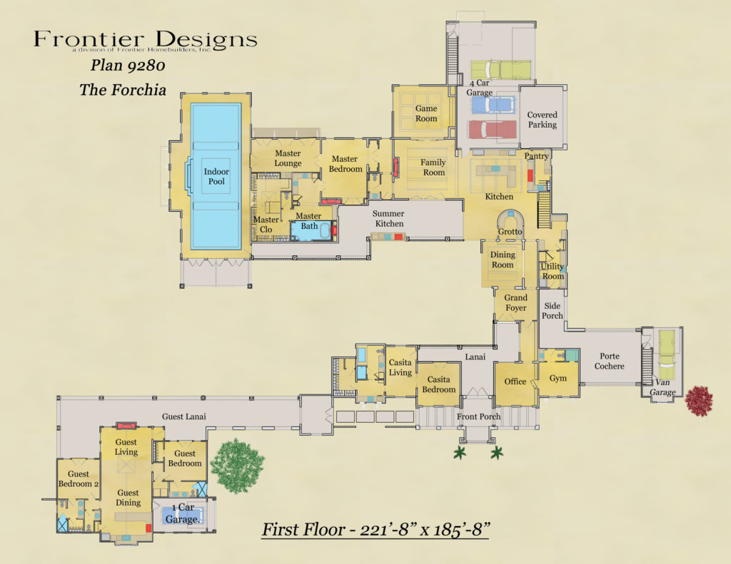 Howard first floor plan