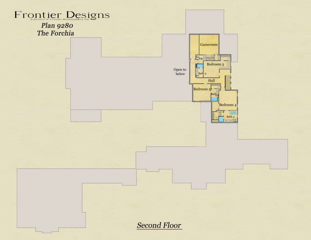 Howard second floor plan