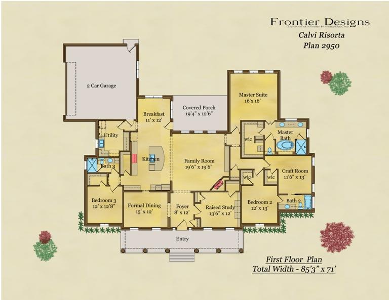 2950 First Floor