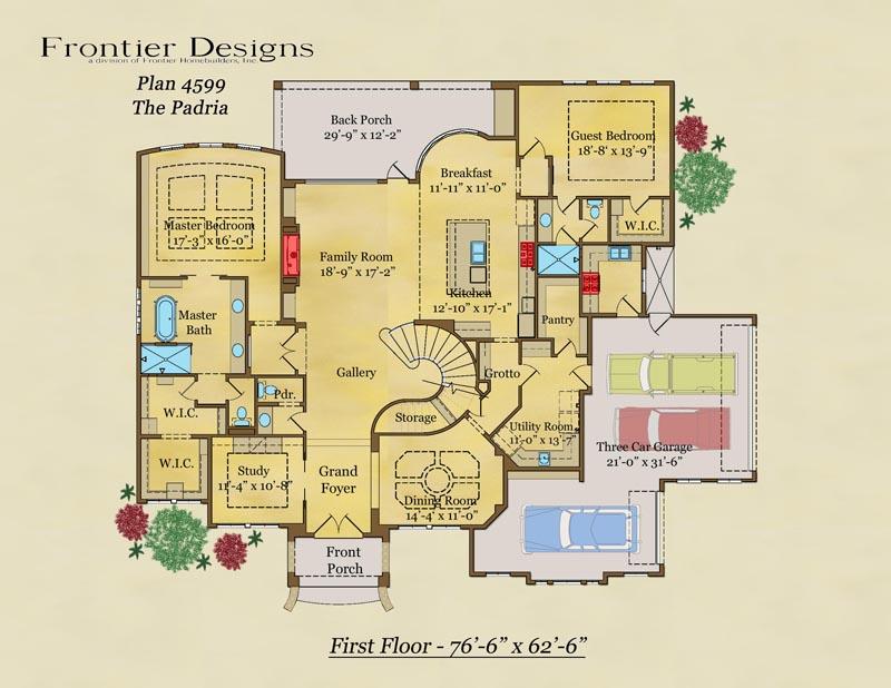 4599 First Floor Padria