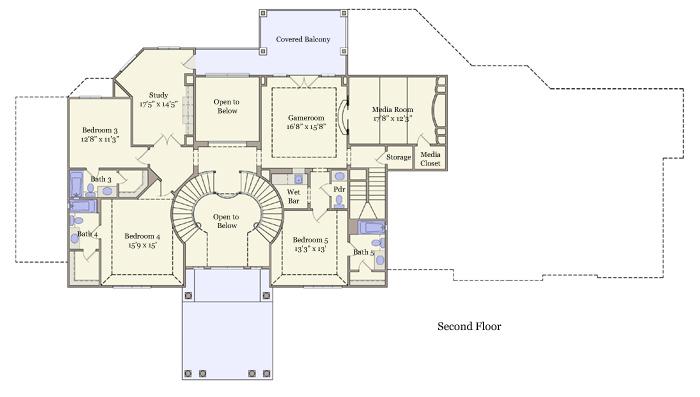 5709 Second Floor