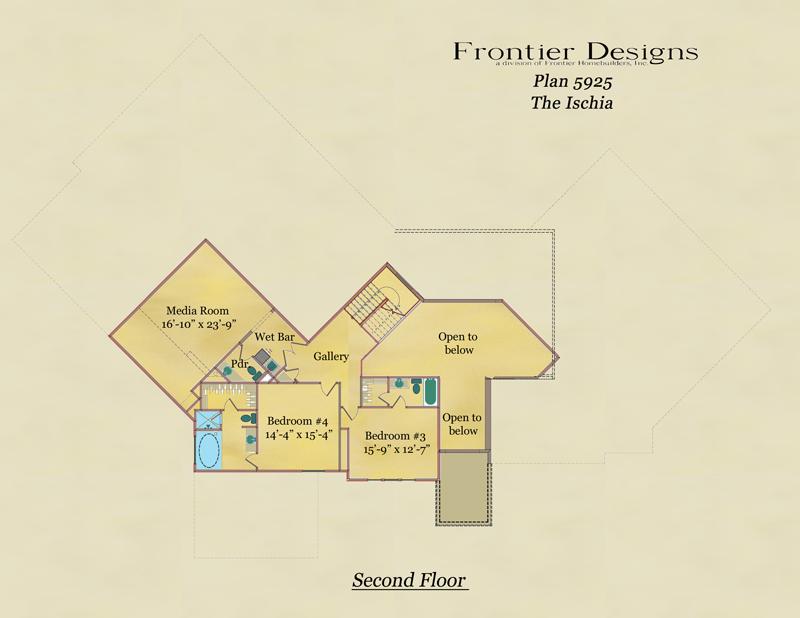 19544 Riverwalk decorative second floor plan