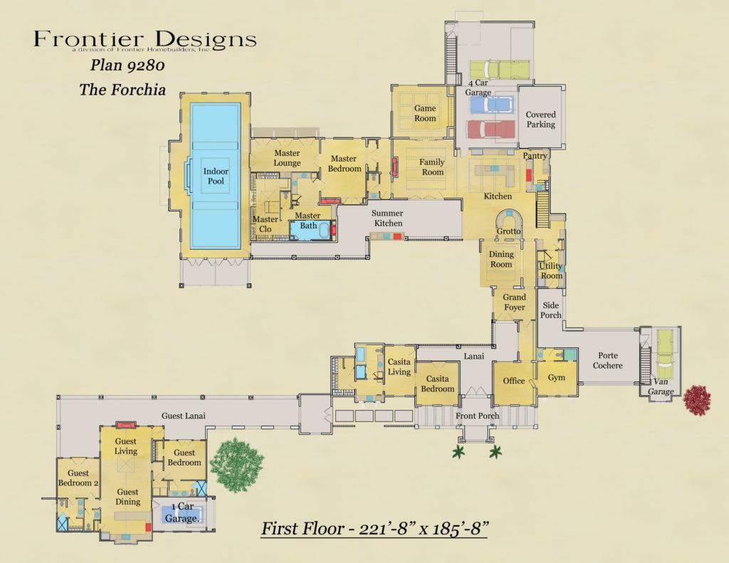 Howard first floor plan