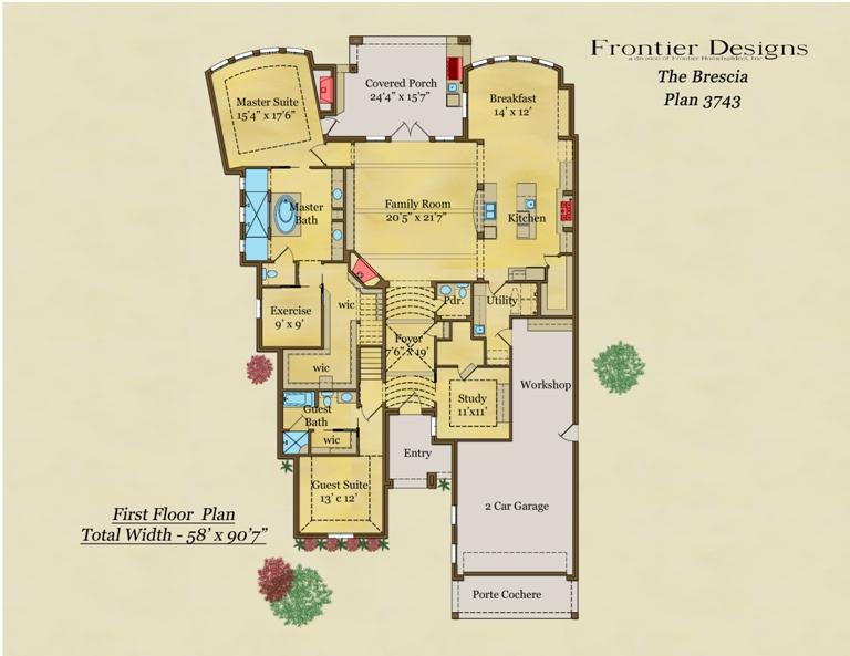 3743 First Floor Brescia