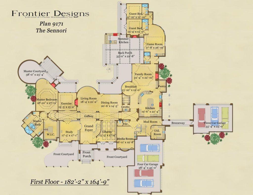 9171 First Floor Sennori