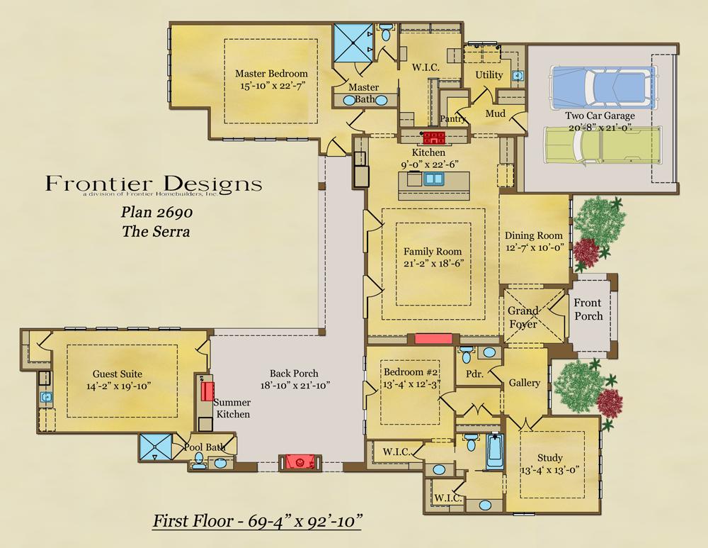 326 Electra Drive floor plan