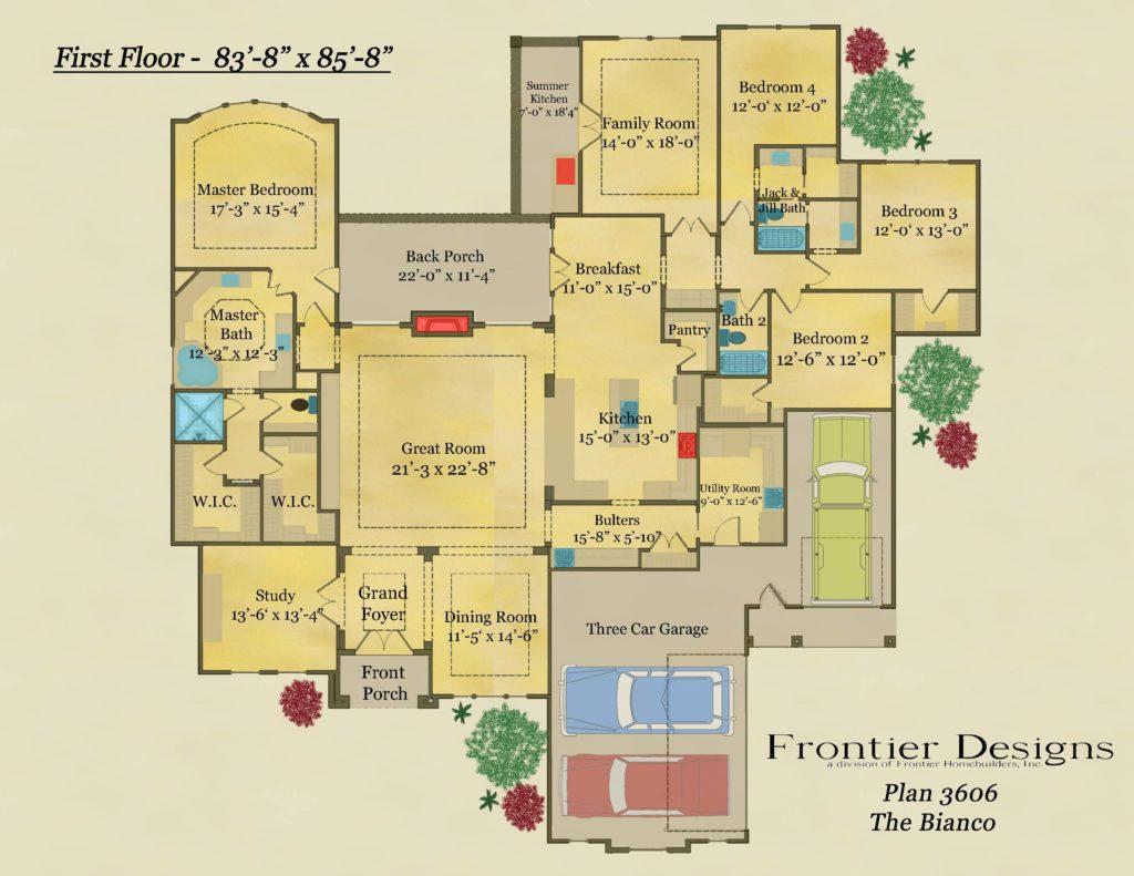 Wesley First Floor Plan