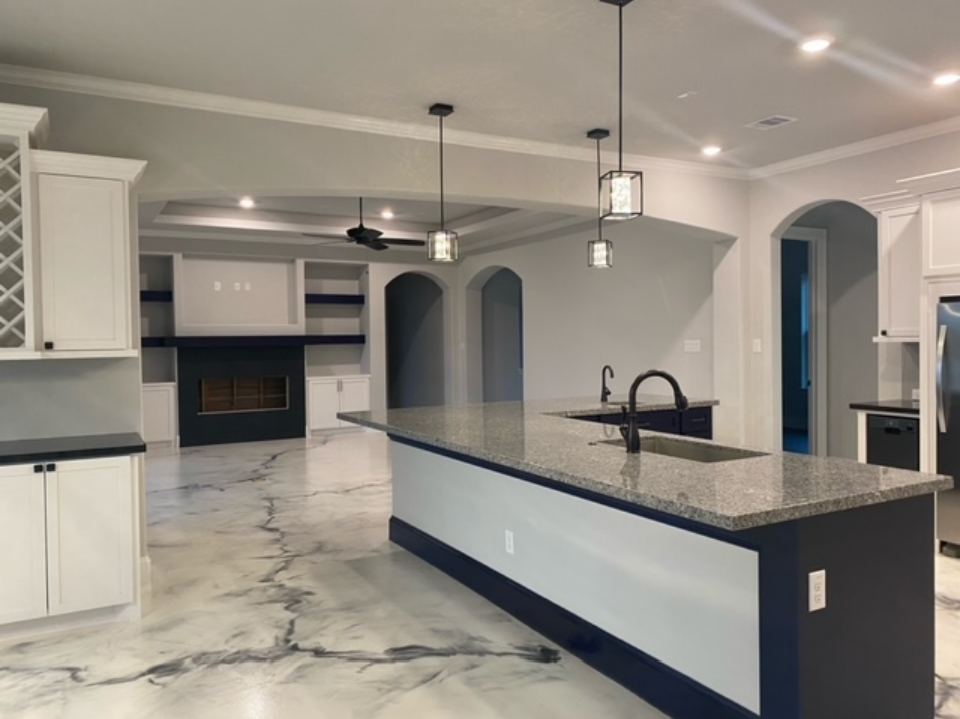 3819 South Shore - Kitchen and Family Room